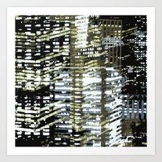 Night City 2 Art Print