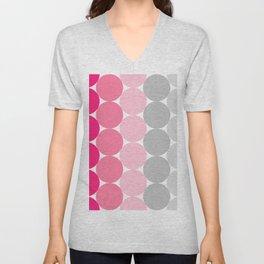Raspberry dream Unisex V-Neck