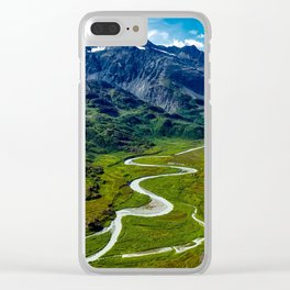Down In The Valley Clear iPhone Case