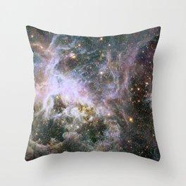 Infrared view of the Tarantula Nebula Throw Pillow