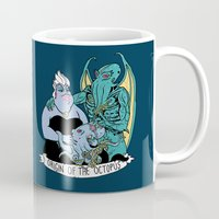 under the sea Mugs featuring Under The Sea by Hillary White