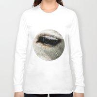 lama Long Sleeve T-shirts featuring Lama by Design Windmill