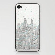 Winter in New York iPhone & iPod Skin