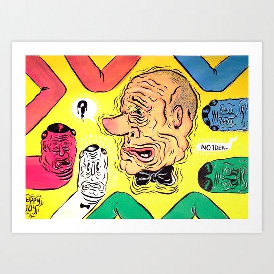 FOLLOW ME ON INSTAGRAM! patrickthatdraws Art Print