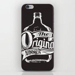 The original sinner iPhone Skin