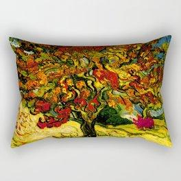 Van Gogh Mulberry Tree Rectangular Pillow