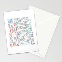 """If"" by Rudyard Kipling Stationery Cards"