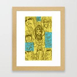 Mal y de Malas Framed Art Print
