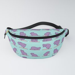 Baby Hippo Yoga Fanny Pack