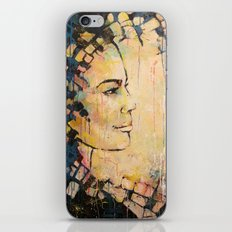Looking to the Future -beautiful woman iPhone & iPod Skin