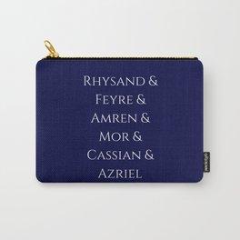 Rhysand Feyre Amren Cassian Mor Azriel ACOMAF Fandom Carry-All Pouch