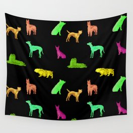 Dog Pattern Wall Tapestry