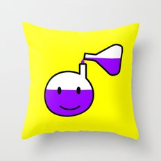 Fuel for the mind Throw Pillow
