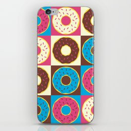 Mixed Dozen Donuts iPhone Skin