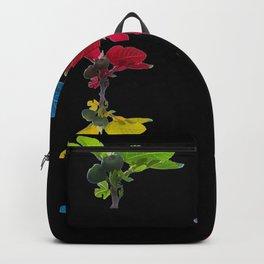 A fig tree dancing in the dark Backpack
