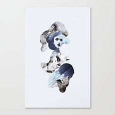 blue emotions Canvas Print