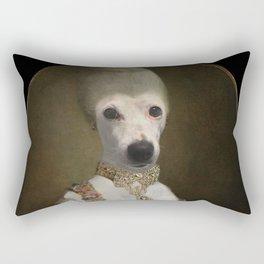 "Marie ""Chien""toinette Rectangular Pillow"