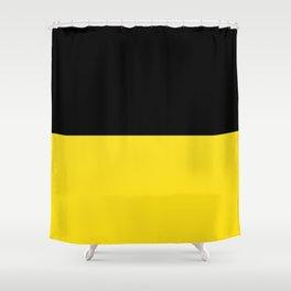 Flag of Baden-Württemberg Shower Curtain