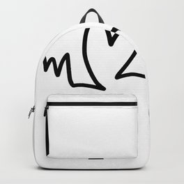 My Heartbeats For You Backpack