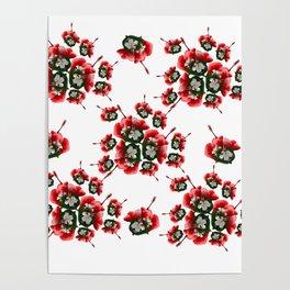 Malvaceae Hibiscus Poster