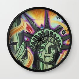 Imagination Emancipation Wall Clock