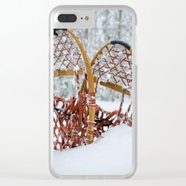 Snow Treks Clear iPhone Case