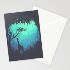 After Cosmic Storm Stationery Cards