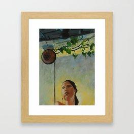 Baño Operetta Framed Art Print