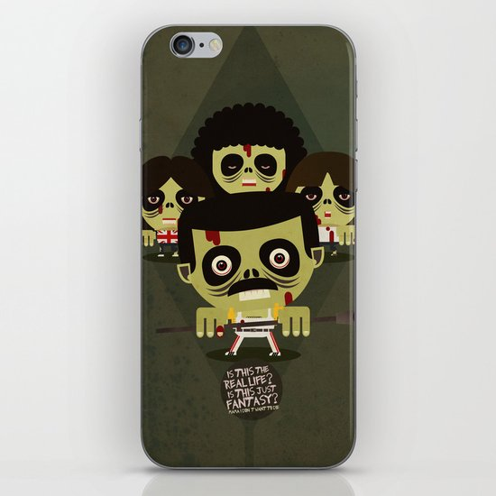 queen zombies iPhone & iPod Skin