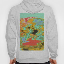 Topographic Planet-mash Hoody