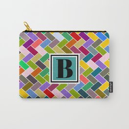 B Monogram Carry-All Pouch