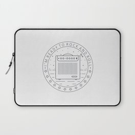 I'm ready for rock and roll Laptop Sleeve