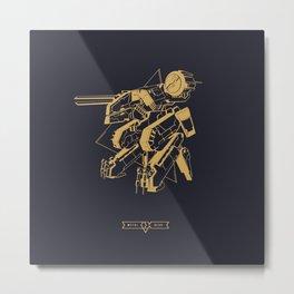 Metal Gear Solid Rex Metal Print