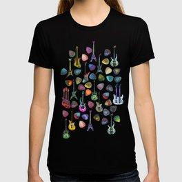 Guitars and Picks T-shirt