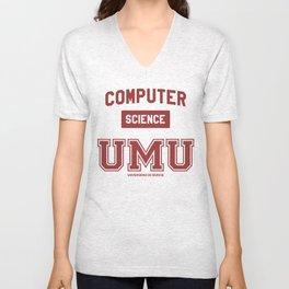 Camiseta Facultad Informática UMU Unisex V-Neck