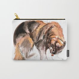 American Gulo gulo watercolor Carry-All Pouch