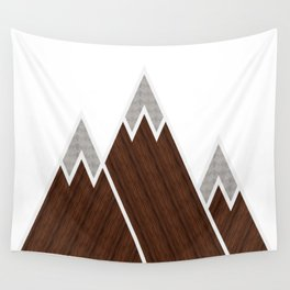 Concrete Mountains Wall Tapestry