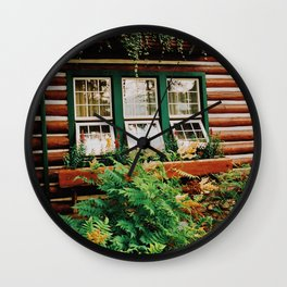 Cabin life Wall Clock