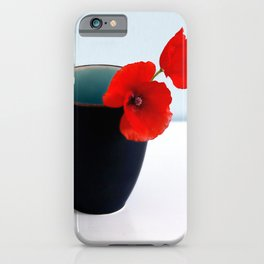 Morning Poppies iPhone Case