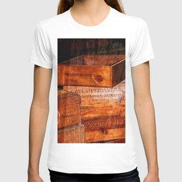 Wine crates T-shirt