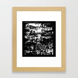Commercial Drive Framed Art Print