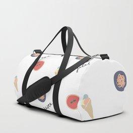 Pizza, Pasta, Gelata. Duffle Bag