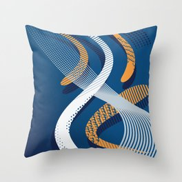 Koi 8 Throw Pillow