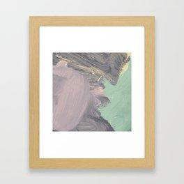 Storming Pastel Framed Art Print