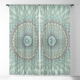 Abstract Colorful Spiritual Mandala c14207 Sheer Curtain