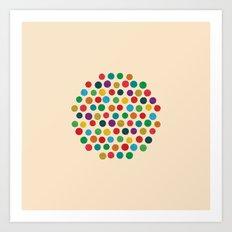 Circles Circle Art Print