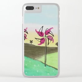 skyscapes 13 Clear iPhone Case