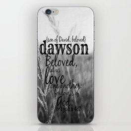 Dawson iPhone Skin