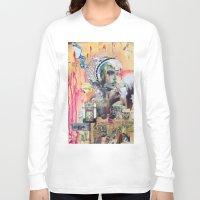 blush Long Sleeve T-shirts featuring Blush by Katy Hirschfeld