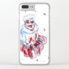 Tomato Granny Clear iPhone Case